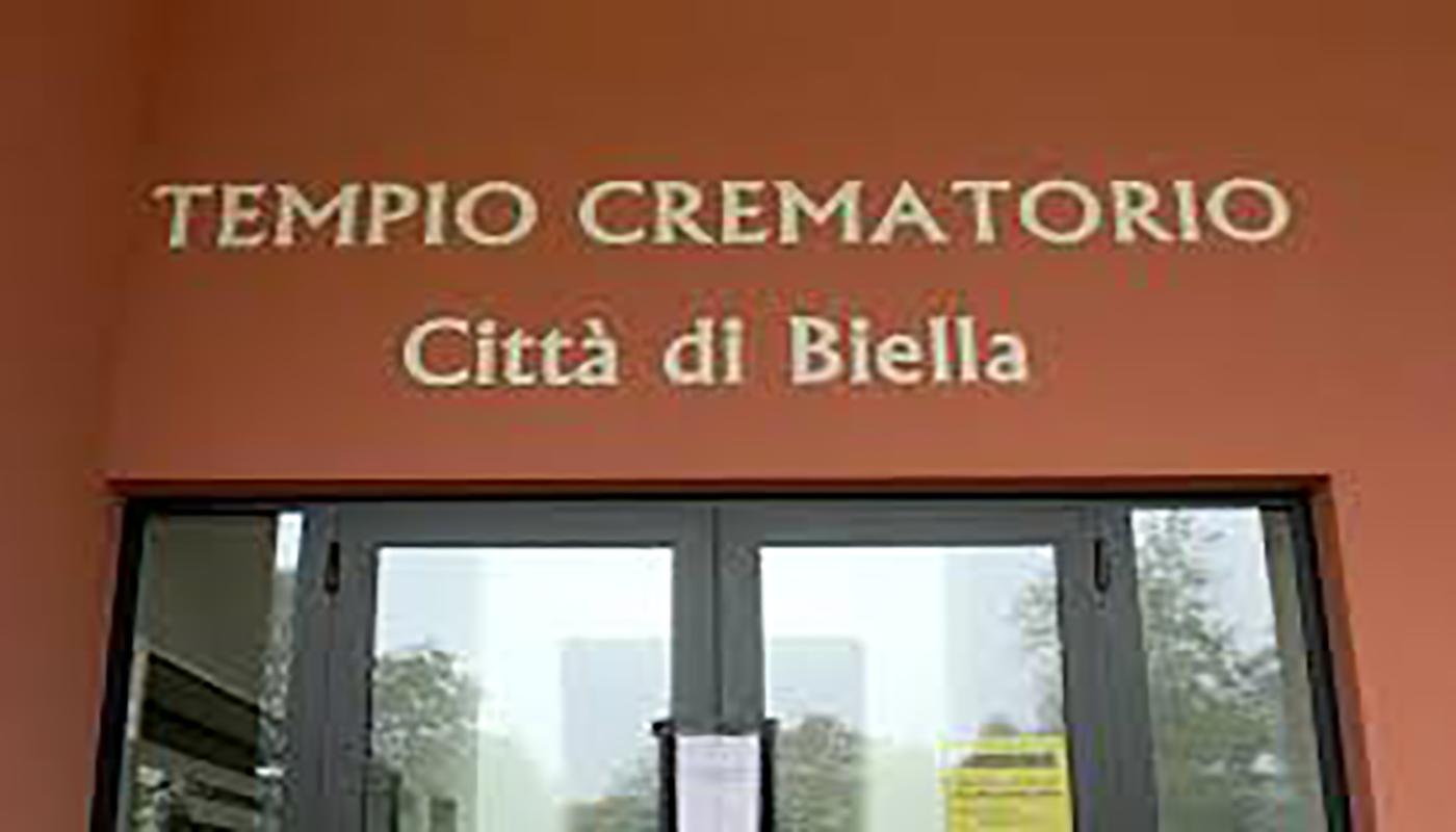 Cremazioni multiple e bare aperte a Biella